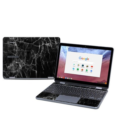 Samsung Chromebook Plus (2018) Skin - Black Marble