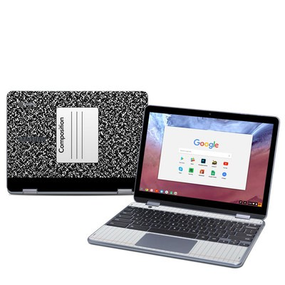 Samsung Chromebook Plus (2018) Skin - Composition Notebook