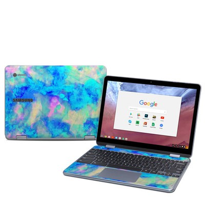 Samsung Chromebook Plus (2018) Skin - Electrify Ice Blue