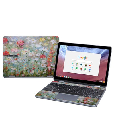 Samsung Chromebook Plus (2018) Skin - Flower Blooms