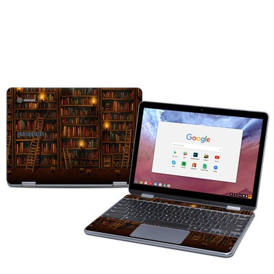 Samsung Chromebook Plus (2018) Skin - Library