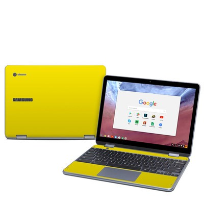 Samsung Chromebook Plus (2018) Skin - Solid State Yellow