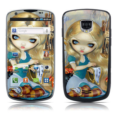 Samsung Droid Charge Skin - Alice in a Dali Dream