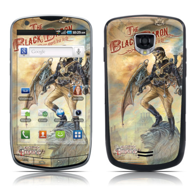 Samsung Droid Charge Skin - The Black Baron