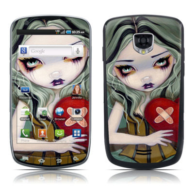 Samsung Droid Charge Skin - Broken Heart