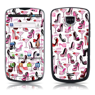 Samsung Droid Charge Skin - Burly Q Shoes