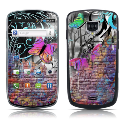 Samsung Droid Charge Skin - Butterfly Wall