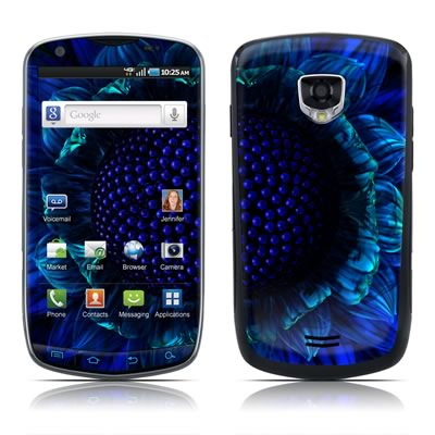 Samsung Droid Charge Skin - Cobalt Daisy