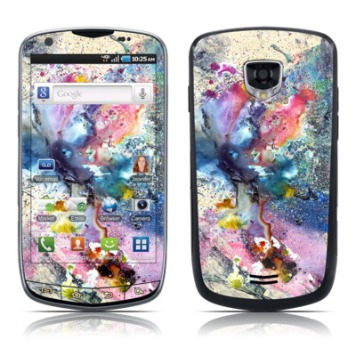 Samsung Droid Charge Skin - Cosmic Flower