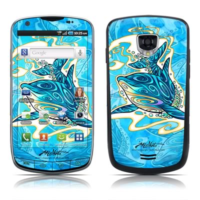Samsung Droid Charge Skin - Dolphin Daydream