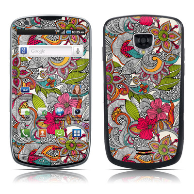Samsung Droid Charge Skin - Doodles Color