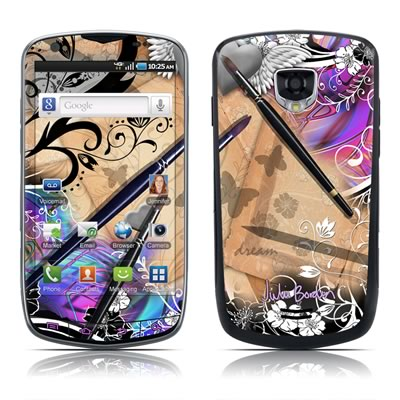 Samsung Droid Charge Skin - Dream Flowers