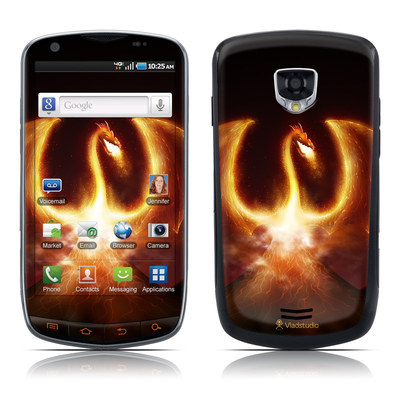 Samsung Droid Charge Skin - Fire Dragon
