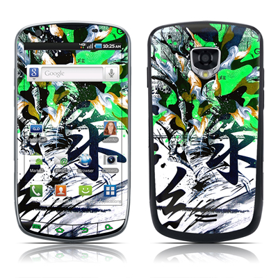 Samsung Droid Charge Skin - Green 1