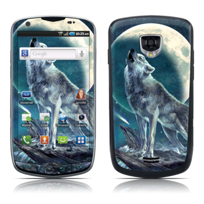 Samsung Droid Charge Skin - Howling Moon Soloist