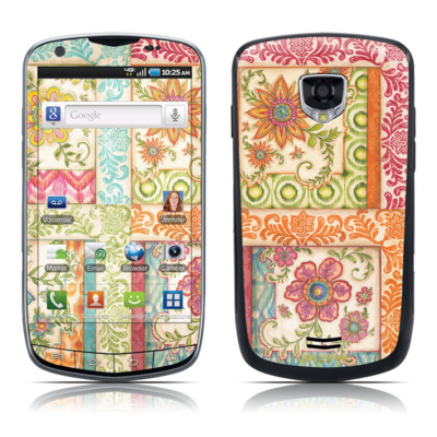 Samsung Droid Charge Skin - Ikat Floral