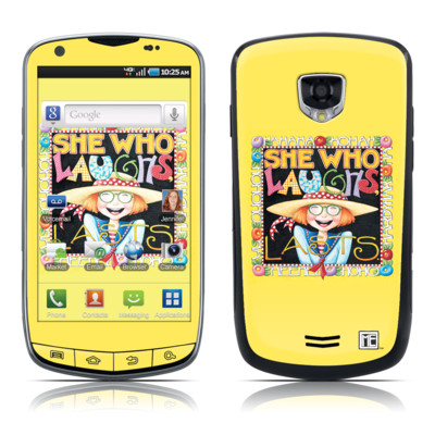 Samsung Droid Charge Skin - She Who Laughs