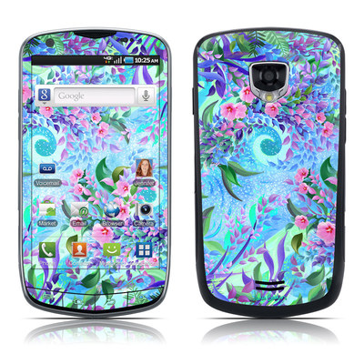 Samsung Droid Charge Skin - Lavender Flowers