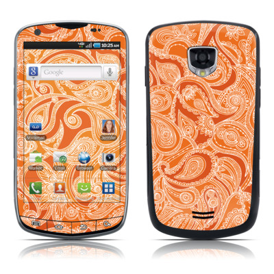 Samsung Droid Charge Skin - Paisley In Orange