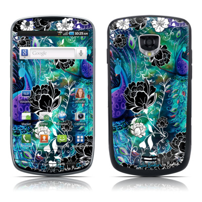 Samsung Droid Charge Skin - Peacock Garden