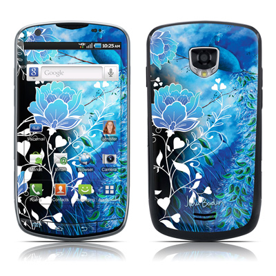 Samsung Droid Charge Skin - Peacock Sky