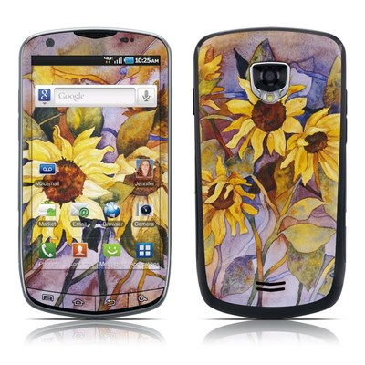 Samsung Droid Charge Skin - Sunflower
