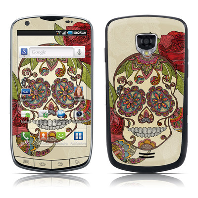 Samsung Droid Charge Skin - Sugar Skull