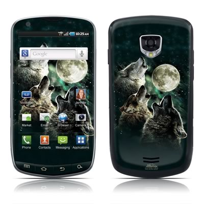 Samsung Droid Charge Skin - Three Wolf Moon