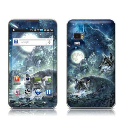 Samsung Galaxy Player 5.0 Skin - Bark At The Moon