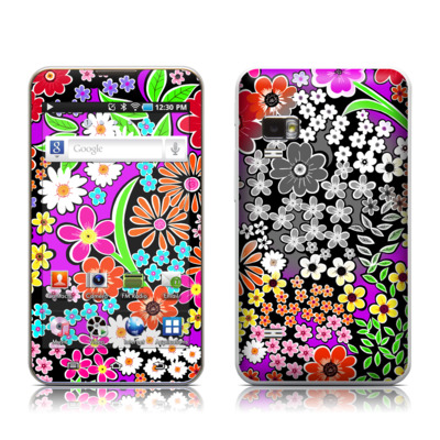 Samsung Galaxy Player 5.0 Skin - A Burst of Color