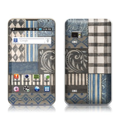 Samsung Galaxy Player 5.0 Skin - Country Chic Blue