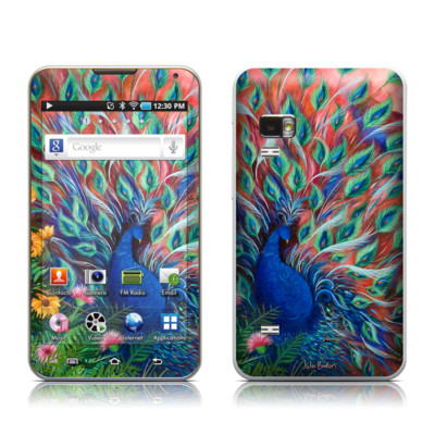 Samsung Galaxy Player 5.0 Skin - Coral Peacock