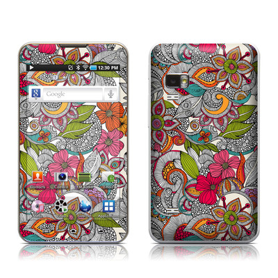 Samsung Galaxy Player 5.0 Skin - Doodles Color