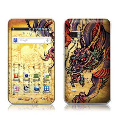 Samsung Galaxy Player 5.0 Skin - Dragon Legend