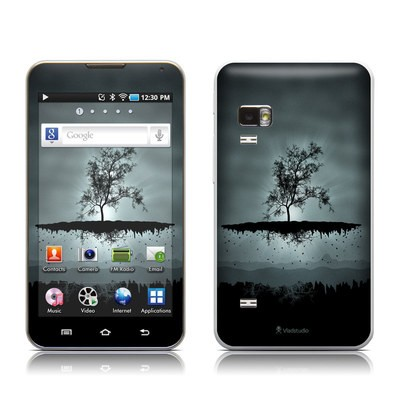 Samsung Galaxy Player 5.0 Skin - Flying Tree Black
