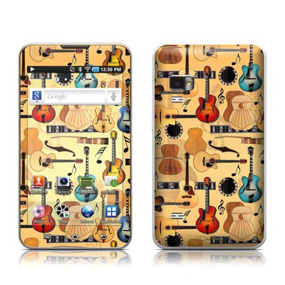 Samsung Galaxy Player 5.0 Skin - Guitar Collage
