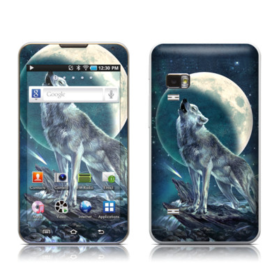 Samsung Galaxy Player 5.0 Skin - Howling Moon Soloist
