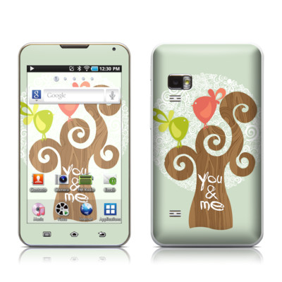 Samsung Galaxy Player 5.0 Skin - Two Little Birds