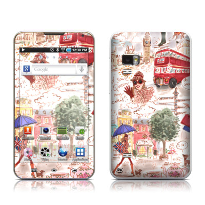Samsung Galaxy Player 5.0 Skin - London