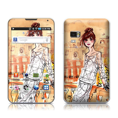 Samsung Galaxy Player 5.0 Skin - Mimosa Girl