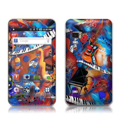 Samsung Galaxy Player 5.0 Skin - Music Madness