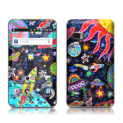 Samsung Galaxy Player 5.0 Skin - Out to Space