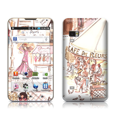 Samsung Galaxy Player 5.0 Skin - Paris Makes Me Happy