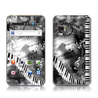 Samsung Galaxy Player 5.0 Skin - Piano Pizazz