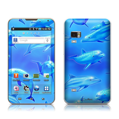 Samsung Galaxy Player 5.0 Skin - Swimming Dolphins