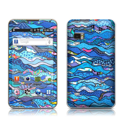 Samsung Galaxy Player 5.0 Skin - The Blues