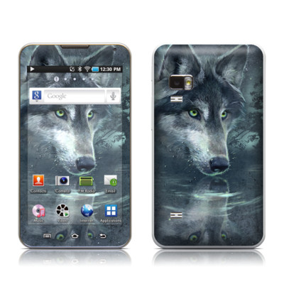 Samsung Galaxy Player 5.0 Skin - Wolf Reflection