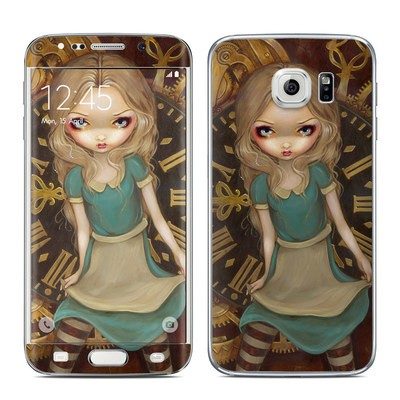 Samsung Galaxy S6 Edge Skin - Alice Clockwork