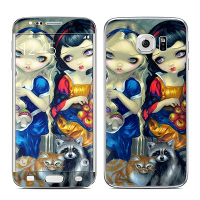 Samsung Galaxy S6 Edge Skin - Alice & Snow White