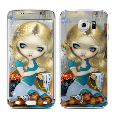 Samsung Galaxy S6 Edge Skin - Alice in a Dali Dream